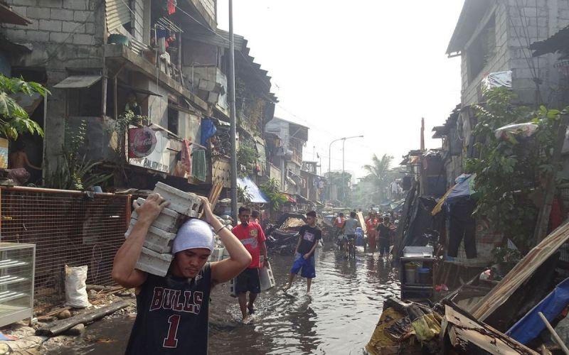 Wiederaufbau-Manila